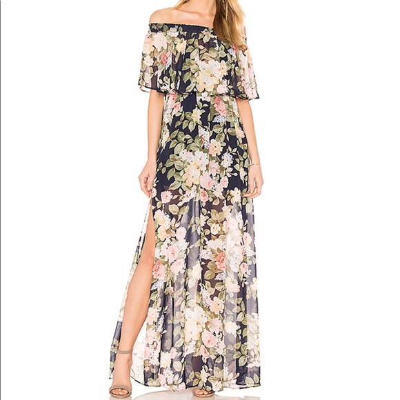 61d144bd4e676 Show Me Your MuMu Dresses | Nwt Party Blossom Hacienda Maxi | Poshmark